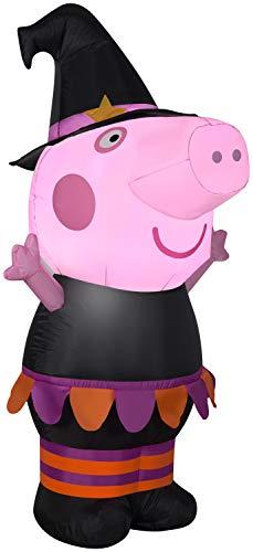 Gemmy 3.5' Airblown Inflatable Halloween Peppa Pig