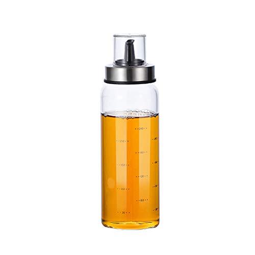 YOUNGE Botellas de cristal de almacenamiento para botellas de aceite, vinagre, utensilios de cocina