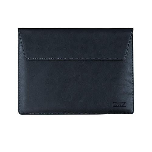 ebuymore PU Leather 10.1-10.8 Tablet iPad Sleeve Cover Breifcase for Microsoft Surface Go 2 10.5 / Lenovo Chromebook Duet 10.1 / Walmart Onn 10 / Huawei MatePad 10.4 / MatePad 10.8 / C5 10.4 (Black)