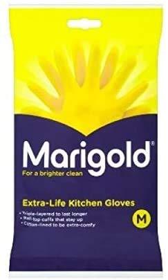 Marigold 2 x 6 X GLOVES KITCHEN MEDIUM MEDIUM | 6 PACK BUNDLE