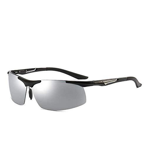 Fahrradbrillen Radfahren Polarisierende Blend Spiegel Light Driver Augen mit Sport-Sonnenbrille einen.Kreislauf.durchmachenglas Geeignet for Radfahren Laufen Angeln Golf (Farbe: Kaffee) ZHW345