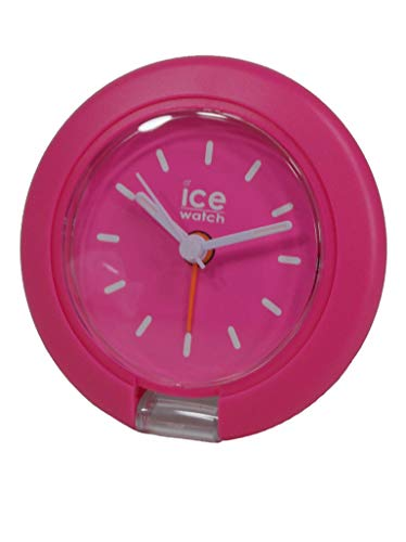 Ice Watch Uhr Ice Travel Clock Analog Alarm Licht Unisex Kunststoff Pink 015194