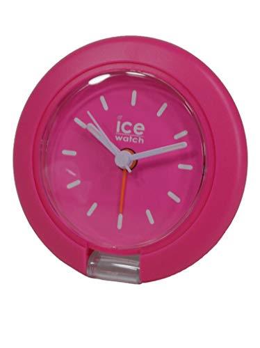 Ice Watch horloge Ice Travel Clock analoog alarm licht unisex kunststof roze 015194
