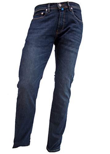 Pierre Cardin Herren Future Flex Jeans Lyon Tapered blau in 33/32