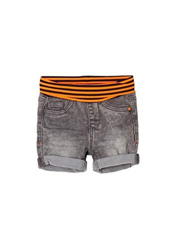s.Oliver Unisex - Baby Jeans-Shorts mit Umschlagbund grey 80