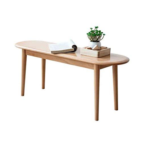 WGXX Voetbank & beklede kruk eettafel bank natuurlijk massief hout schoenenbank hoofdkeuken eetkamermeubel