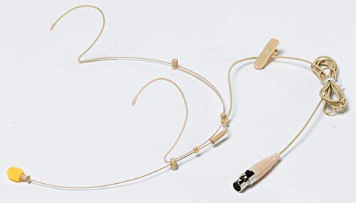 BESPECO HS100SU - Microfono omnidirezionale ad archetto, compatibile Shure