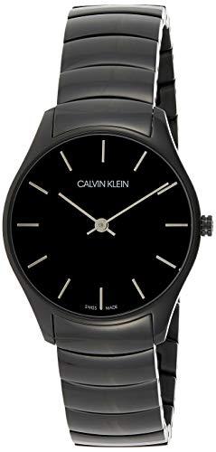 Calvin Klein Reloj Analógico-Digital para Unisex Adultos de Cuarzo con Correa en Acero Inoxidable K4D22441