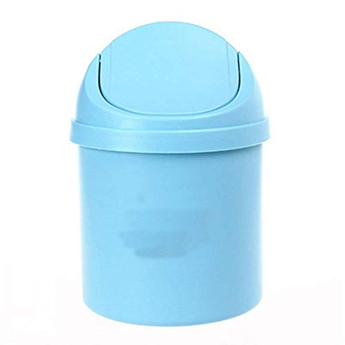 Hengyixing, Mini Desktop Swing lid Trash can, Debris Storage clean Trash can-3