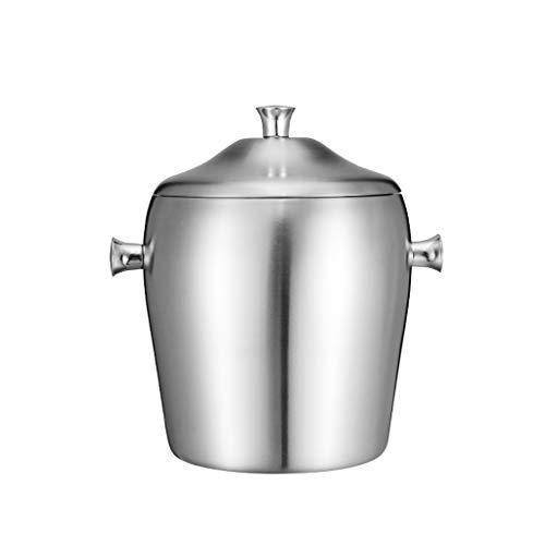 XYSQ Cubo De Hielo, Cubo De Hielo para El Bar De Cócteles, Cubo De Champán, Cubo De Hielo con Tapa, Cubo De Cerveza, Ideal para El Bar De La Casa, La Cerveza Fría, El Champán Y El Vino