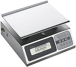 Balance de Cuisine Professionnelle Inox avec Ecran Digital - 20 kg - Inox 20 kg