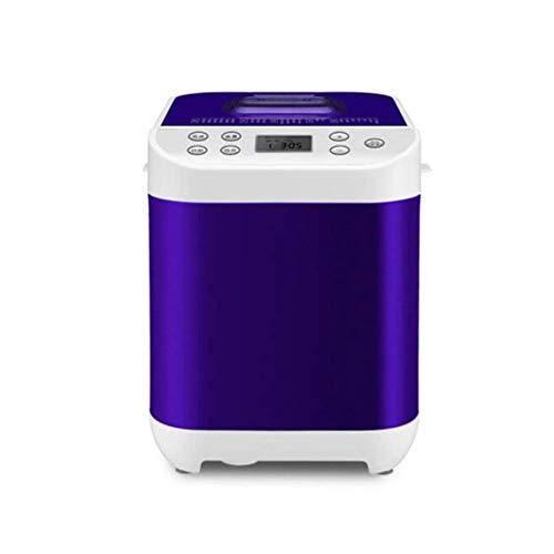 Estantería compacta máquina de pan rápido Breadmaker completamente automática táctil 450W Pantalla LCD de tres colores quemados 22 Menús Designación de tiempo adecuados for la cocina panificadoras de