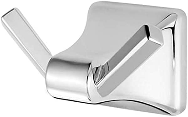 Pfister BRH FE1 Park Avenue Robe Hook With 2 Hooks And Concealed Mounting Polished Chrome