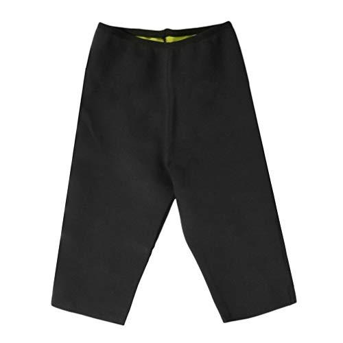 Pantalones de Fitness Pantalones de Yoga para el Cuerpo Pantalones Deportivos Negros Entrenamiento de Salud Fitness (Negro XXL)