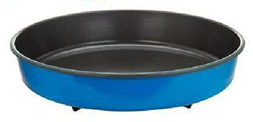 Piatto Crisp a bordo alto per forno a microonde – 28CM Blu