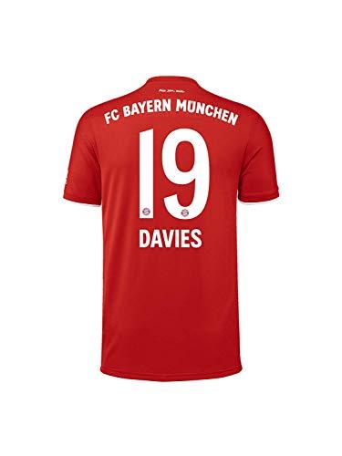 FC Bayern München Home-Trikot Saison 2020/21, Gr. XL, Alphonso Davies