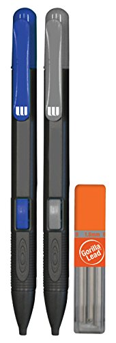 The Write Dudes 2ct Gorilla Lead Mechanical Pencil