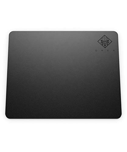 HP OMEN 100 Tapis de Souris Gaming (36 cm x 30 cm, Ultra Fin, Tissu, Base Caoutchouc Antidérapant, Résistant à l