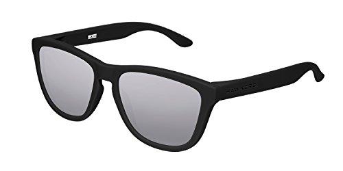HAWKERS - Gafas de sol para hombre y mujer ONE , Negro/Gris