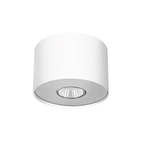 Spots rond wit G10 tot 35W 230V spot plafond plafondspots plafondlamp woonkamer hal slaapkamer spotlight
