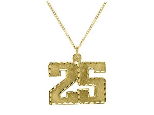 Collar con monograma personalizado de 25 mm de plata de ley o chapado en oro amarillo Pedido especial, hecho a pedido.