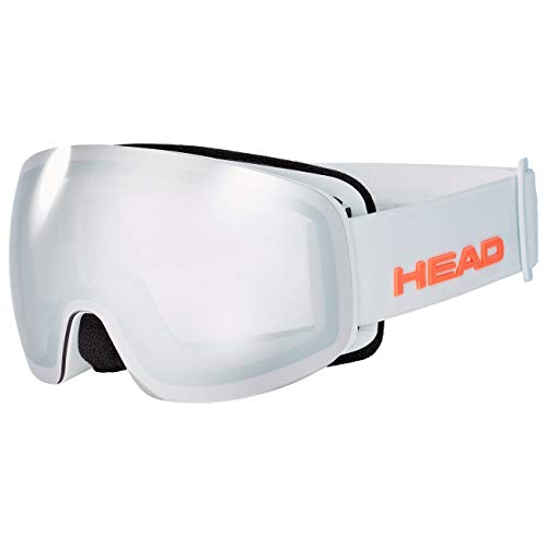 Head Galactic FMR Gafas de esqui, Unisex adultos, Cromo, Talla Unica