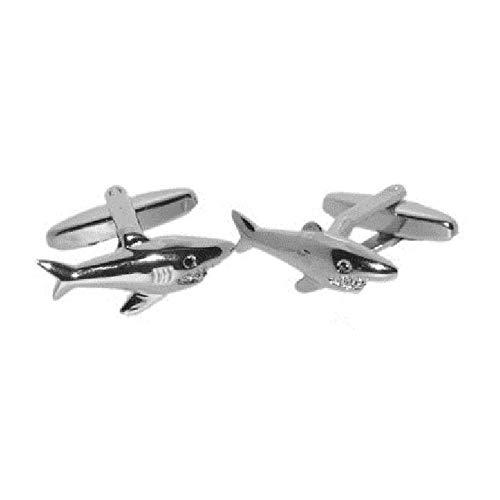 Manschettenknöpfe Hai