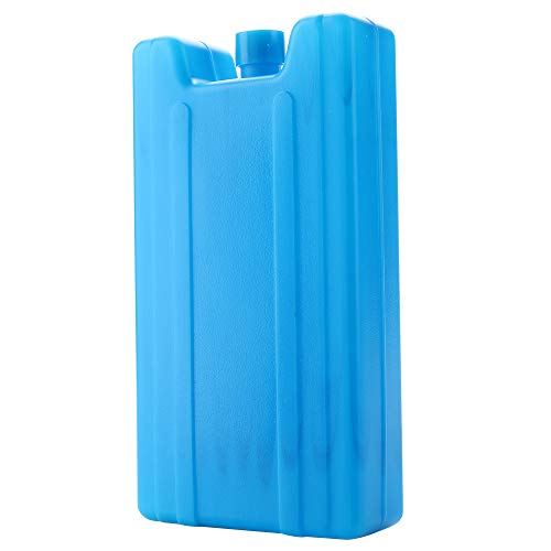 Gulin - Bloques de congelación de hielo reutilizables para enfriar y mantener la comida fresca para acampar actividades al aire libre, cada tamaño 16,5 x 9 x 3,3 cm, 51 g, paquete de 3
