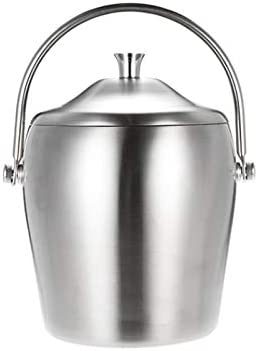 WJCCY 1L Double Walled Ice Bu Stainless Import Thicken Steel Atlanta Mall Bucket