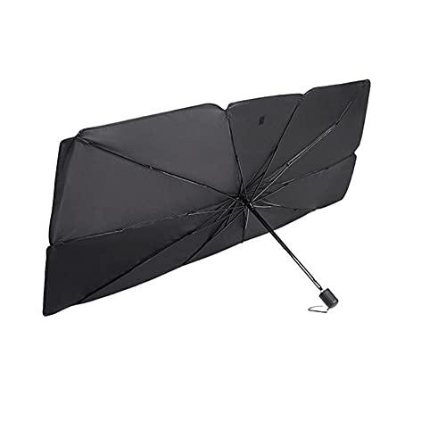 KDABJD Ajuste para Fiat 500, parasol de coche, parabrisas de coche, paraguas plegable, modificación del coche