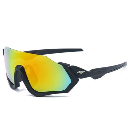 Ncheli Gafas Ciclismo Polarizadas , Gafas Sol Polarizadas Ciclismo Anti- UV Gafas De Sol Gafas Polarizadas para Corriendo, Moto MTB Bicicleta Montaña, Camping y Actividades al Aire Libre