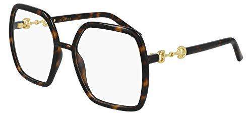Gucci Gafas de Vista GG0890O Dark Havana 55/19/140 mujer