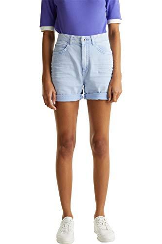 edc by Esprit 030CC1C304 Shorts, Damen, Blau 40 EU
