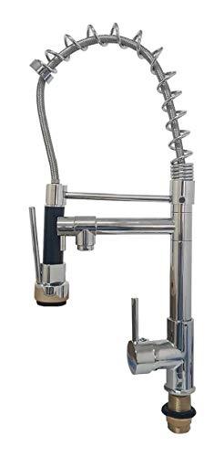 Torneira Gourmet Metal Monocomando 47cm Misturador Extensor