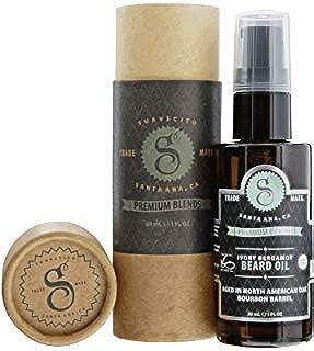 Suavecito Premium Blends Beard Oils - Ivory Bergamot