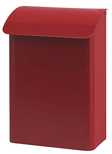 Wandbriefkasten, b 29 cm, VB 444070, Rot