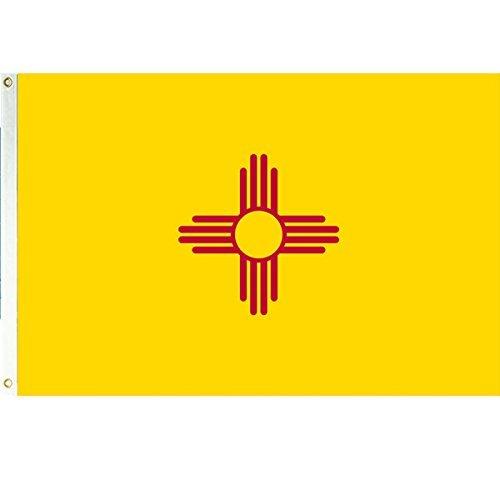 Zudrold Vista Flaggen New Mexico 3x5 Polyester Flagge