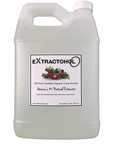 Extractohol -O Certified Organic 190 Cane Alcohol
