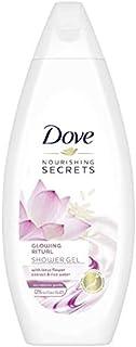Dove Nourishing Secrets Glowing Ritual Shower Gel Bodywash With Lotus Flower Extract And Rice Milk, 250 ml