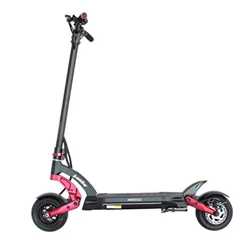 Patinete Eléctrico para Adultos - Scooter Eléctrico - Electric Scooter - Patinete Eléctrico 25 Km/h - Patines Eléctricos Adultos - kaabo Mantis 8 Lite - Motor 800 Vatios - Plegable - Rojo