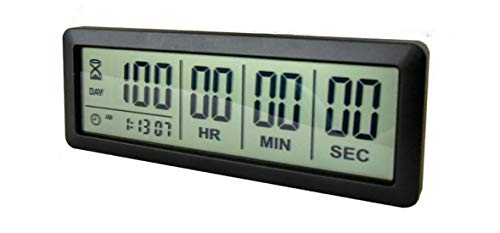 Digital 999 Days Countdown Timer Display time for...