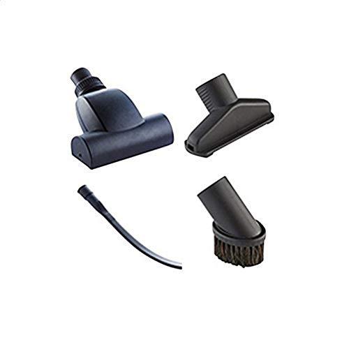 Nilfisk NIL107417190 Kit de Limpieza para Coches Compatible con Aspirador de Bricolaje Buddy Multi II, 0 V, Negro, Set de 4...