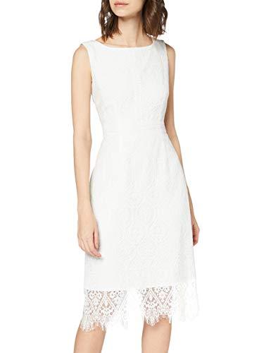 Comma 8t.003.82.5307 Vestido, 0120 Blanco, 40 para Mujer