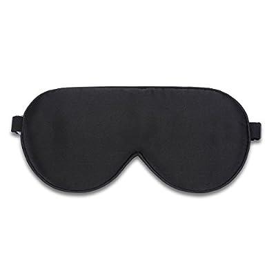 Alaska Bear Natural Silk Sleep Mask, Blindfold, Super Smooth Eye Mask(One Strap)