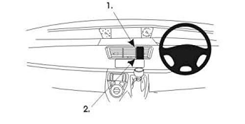 Brodit ProClip - Kit de coche para Fiat Ulysse II 02-11 (para Inglaterra, montaje central)