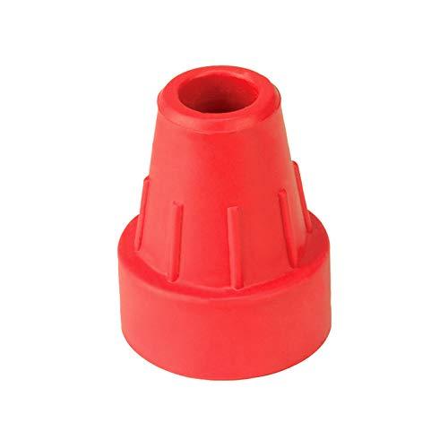 Krugcapsule rood 16 mm (Ossenberg), accessoires voor wandelstokken en onderarmleuningen