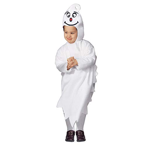 Widmann 36158 - Kinderkostüm Gespenst, Overall, Kopfbedeckung mit Maske, Geist, Karneval, Fasching, Mottoparty