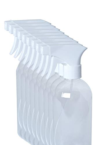 10 Stk a 500ml Sprühflaschen | leer | transparent