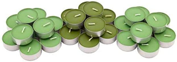 Small Scented Wax, Apple and Pear, Green 30 Pieces