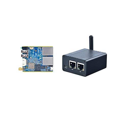 youyeetoo Friendly NanoPi R1 SBC - Router de Doble Puerto de Red IoT Compatible con Ubuntu y OpenWrt de código Abierto RAM 512M.